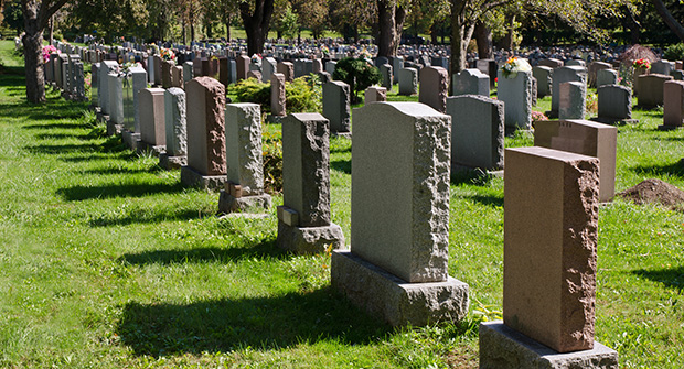 Caring for our cemeteries